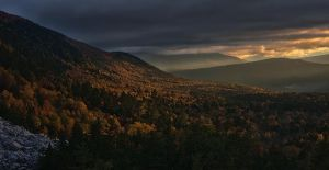 Sunset in the Valley by BlackRoomPhoto