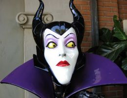 Maleficent in Plastic Form by SolitudeInterlude