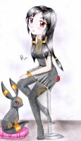 Umbreon Gijinka :3 by Ivy-Mauve