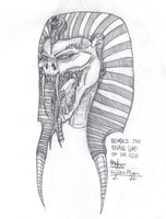 The Snake God of the Nile by VikingPancho