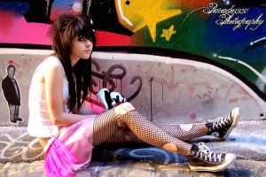 graffiti queen V by paradoxphotography