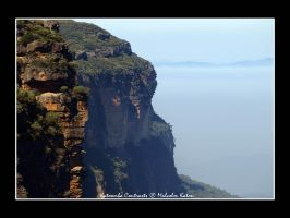Katoomba Contrasts by FireflyPhotosAust
