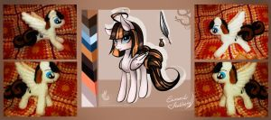 Adopt and Plushie for sale: Caramel Feather by Wilvarin-Liadon