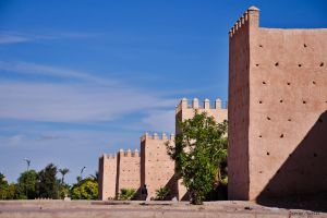 The walls of MARRAKECH by agelisgeo