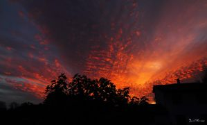 Explosion of fire clouds by J222R