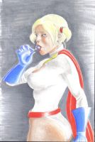 Power Girl in Pigtails by AlAyos