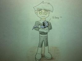 Danny and Baby Pythor by pokephantom99