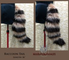 Raccoon tail by MissRaptor