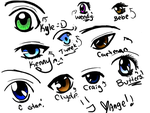 South Park Eyes by Red-Midnight