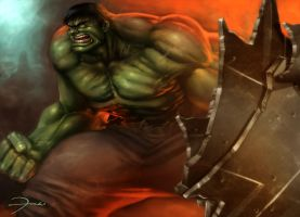 THE INCREDIBLE HULK by darkeyez07