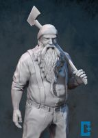 Lumber Jack body crop by christianthomas3d