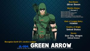 [Earth-27: Recognize] 4- Green Arrow by Roysovitch