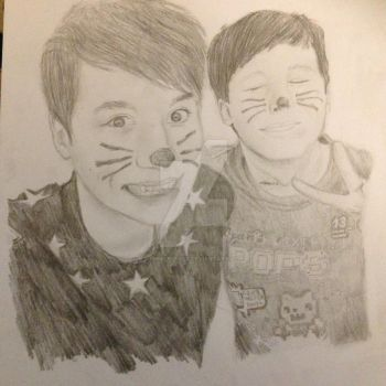 Dan and Phil (PINOF 6) by ShmileeFace