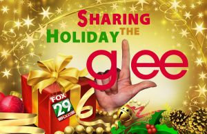 GLEE CHRISTMAS CARD by PatrickJoseph