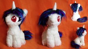 Filly Vinyl Scratch plushie by Voodoo-Tiki