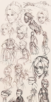 Big Sketch Dump by H0lyhandgrenade
