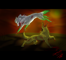 Sage VS. Canto by WolfAngelStar