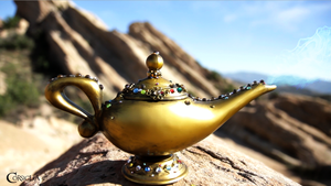 Magic Lamp by TheRealLittleMermaid