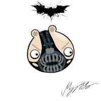 Angry Bane by MarkMajor