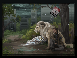Post Apocalyptic Duo by DawnFrost