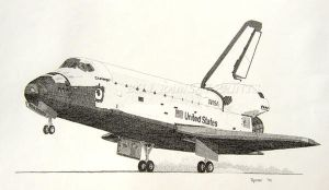 Space Shuttle Challenger by torchf15