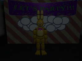 TNAF3 Extras Spring Bonnie Jr by Beastthedog15