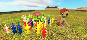 Feast your eyes on my Pikmin! by insaneplayer03