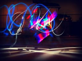 Jay Light Painting by JayypDeBe