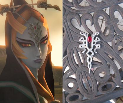- Midna's Headpiece - by Kanti-Kane