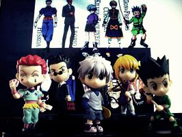Hunter X Hunter by momodere