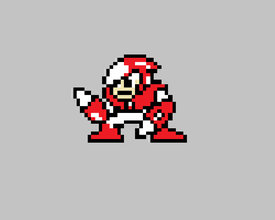 crashman sprite by agarios96