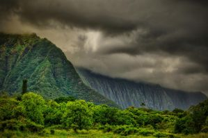 An afternoon Hawian storm by capturedjourneys