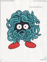 Tangela by kittyk2000