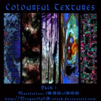 Colourful Textures Pack 1 by BFstock