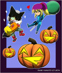 Halloween 2014 (Late) by RaxkiYamato