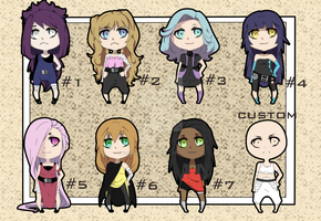 [CLOSED] Naruto Oc Adoptionables # by KoriKoriNii-Adoption