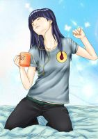 Hinata-onee-san by WhiteFairySun