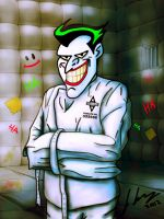 Arkham Asylum Joker. by Joker-laugh