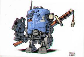 Recycle bot by Tatonkus