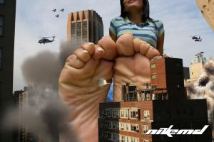 Sole Attack by Nikemd