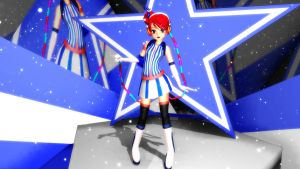 MMD Newcomer Akikoloid-chan Ver. 3 by Pokeluver223