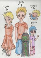 The Simpsons' Kids by hmeyra-ruveyda