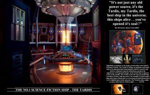 The No.1 Science Fiction ship - The Tardis by DoctorWhoOne