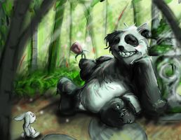 panda around by MeiMeiHughes