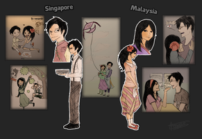 1965 Separation - Singapore x Malaysia by Marcusqwj