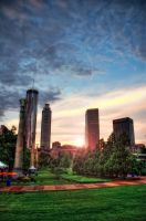 Centennial Olympic Park by kreativEVOLUTION