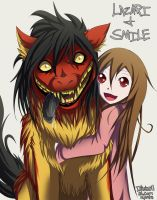 Smile Dog and Lazari by Inkswell