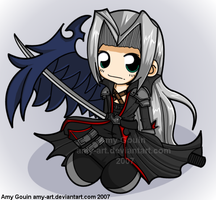 Sephiroth - Kingdom Hearts by amy-art