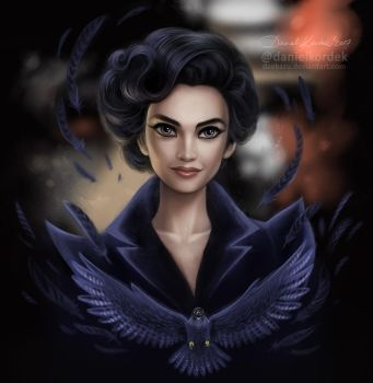 Miss Peregrine by daekazu