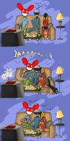 The sleepover - Part 3 by daftcraft